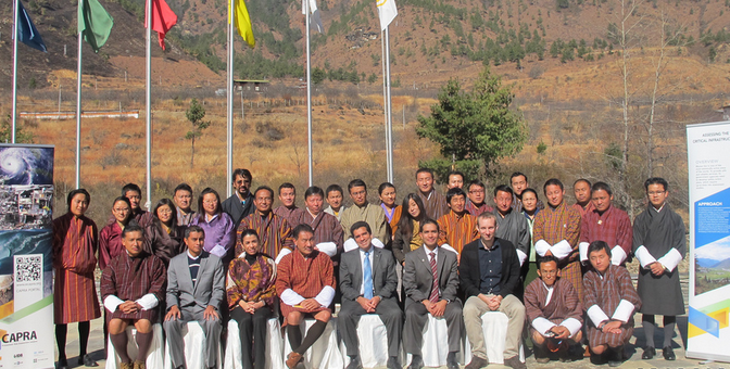 Assessment of CAPRA Project in Thimphu